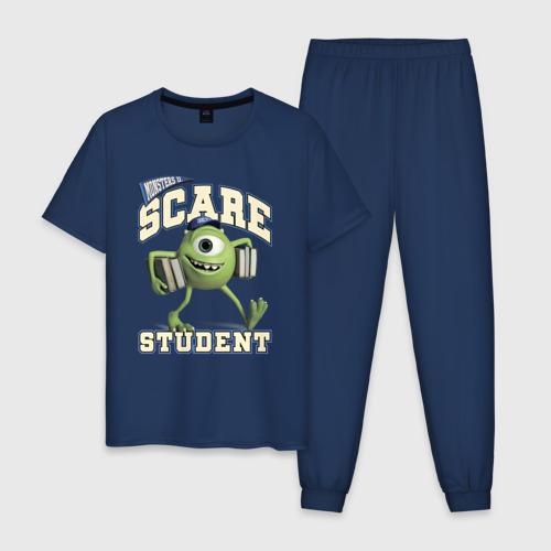 Scare student