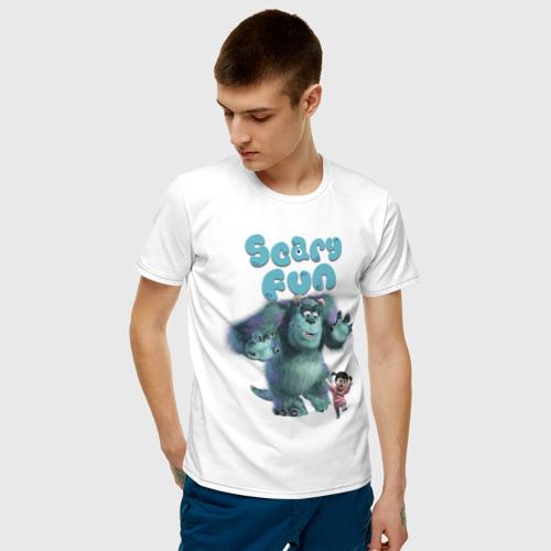 Мужская футболка хлопок Scary Fun Фото 01