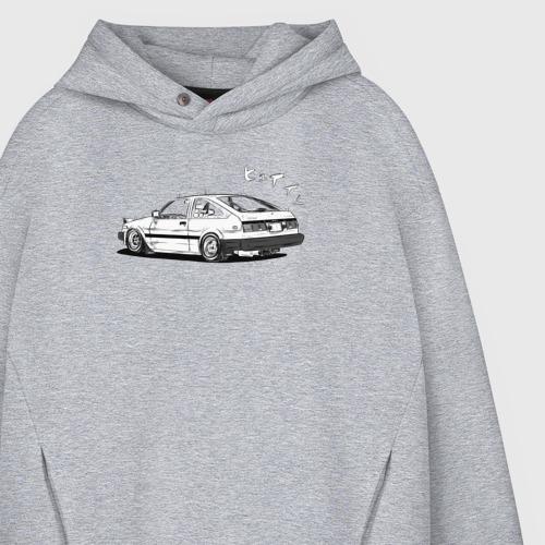 Мужское худи Oversize хлопок Toyota AE86 Фото 01