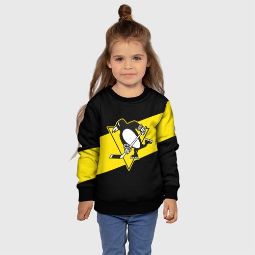 Детский свитшот 3D Питтсбург Пингвинз Фото 01