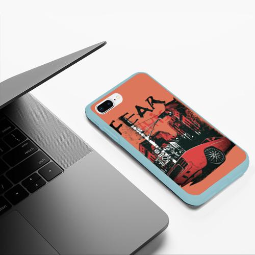 Чехол для iPhone 7Plus/8 Plus матовый Бояться этого Фото 01
