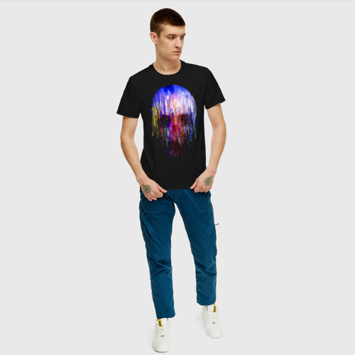 Мужская футболка хлопок Skull illusion Фото 01