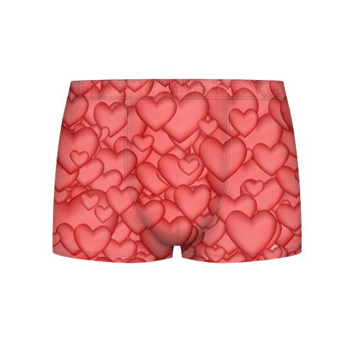 Мужские трусы 3D Сердечки Фото 01
