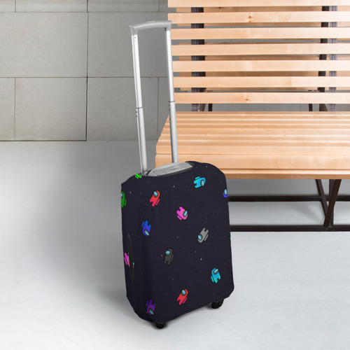Чехол для чемодана 3D Among Us Фото 01