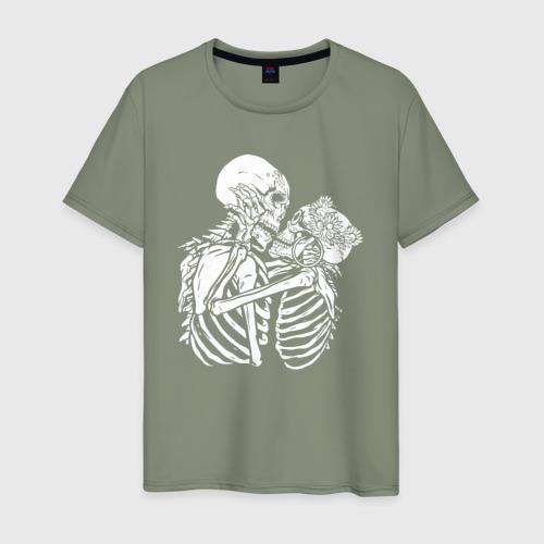 Мужская футболка хлопок Влюбленные Фото 01