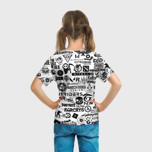 Детская футболка 3D PROGAMER   Все Игры Фото 01
