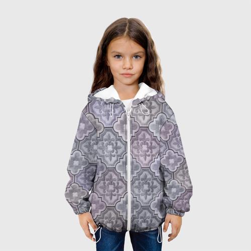 Детская куртка 3D Тротуарная плитка Фото 01
