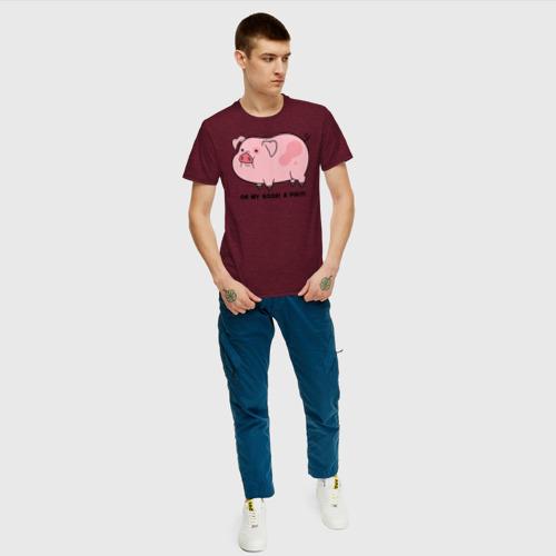 Мужская футболка хлопок Пухля Фото 01