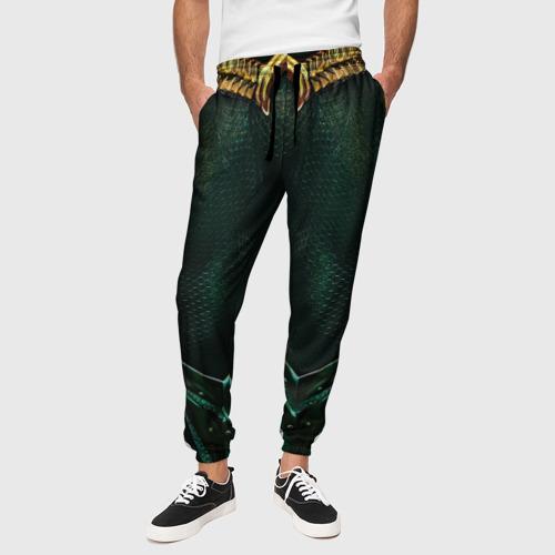Мужские брюки 3D Аквамен Фото 01