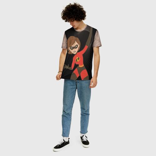 Мужская футболка 3D+ Helen Parr Фото 01