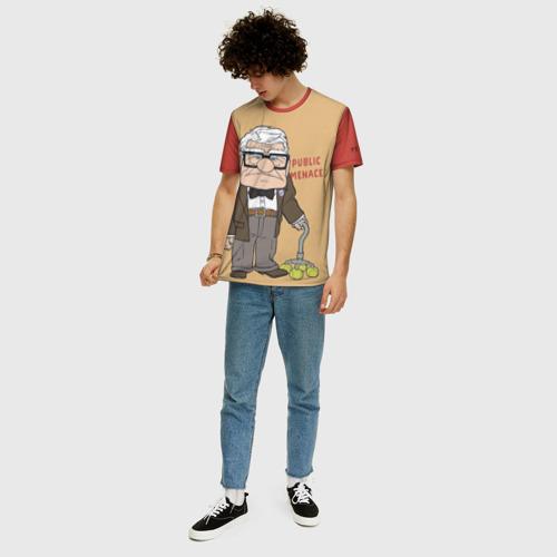 Мужская футболка 3D+ Carl Fredricksen Фото 01