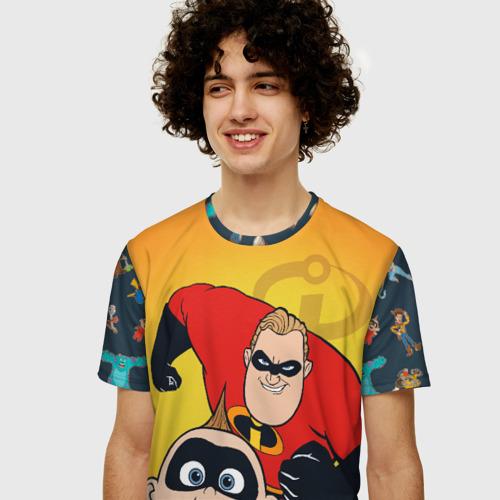 Мужская футболка 3D+ Incredibles Фото 01
