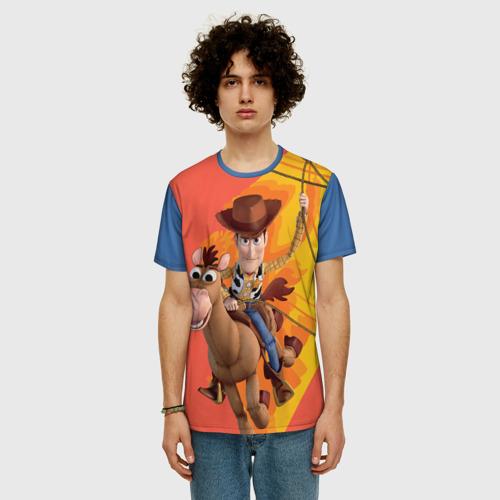 Мужская футболка 3D+ Woody Фото 01
