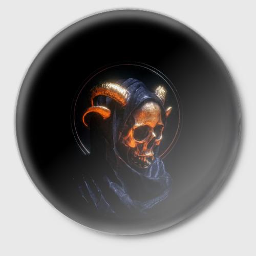 Значок Golden skull   1.1 Фото 01