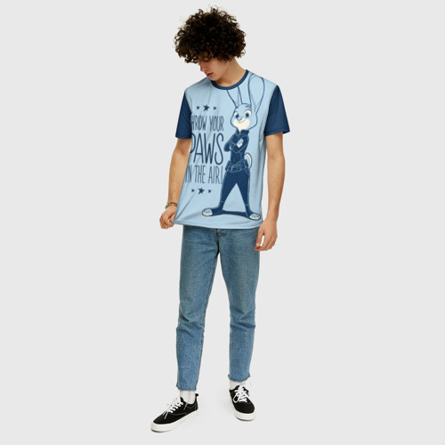 Мужская футболка 3D+ Judy Hopps Фото 01