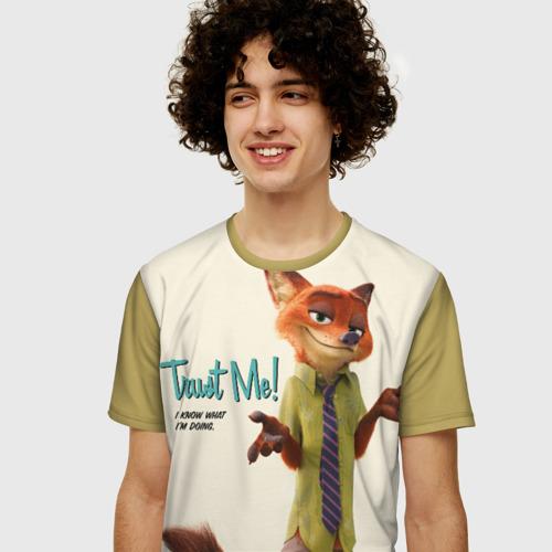 Мужская футболка 3D+ Nick Wilde Фото 01