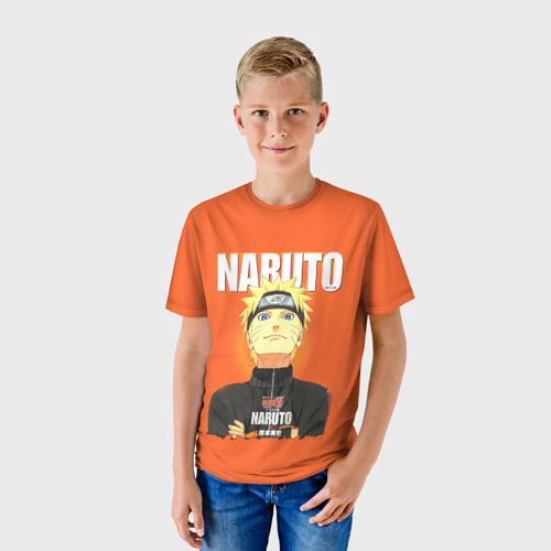 Детская футболка 3D NARUTO за  1090 рублей в интернет магазине Принт виды с разных сторон