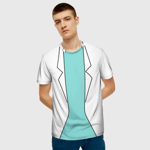 Мужская футболка 3D Rick Фото 01