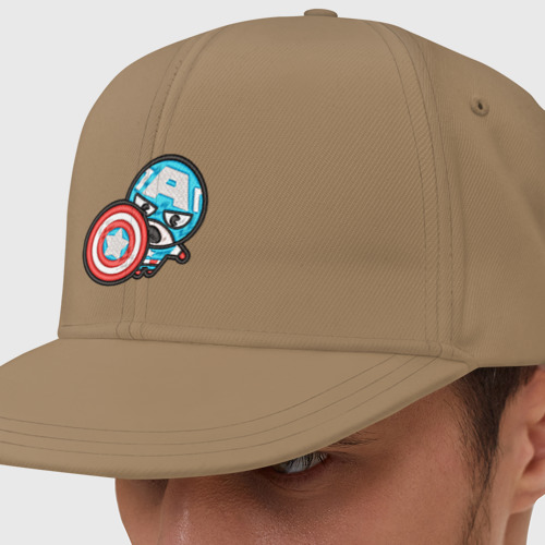 Капитан Америка с щитом