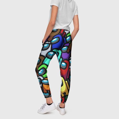 Женские брюки 3D Among us Фото 01