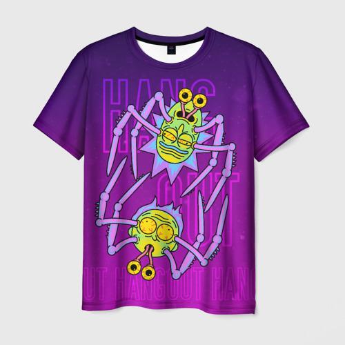 Мужская футболка 3D Рик и Морти. Хэллоуин Фото 01