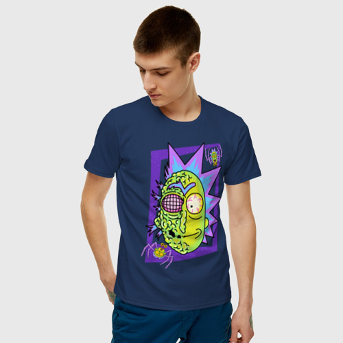 Мужская футболка хлопок Rick & Morty. Рик Фото 01