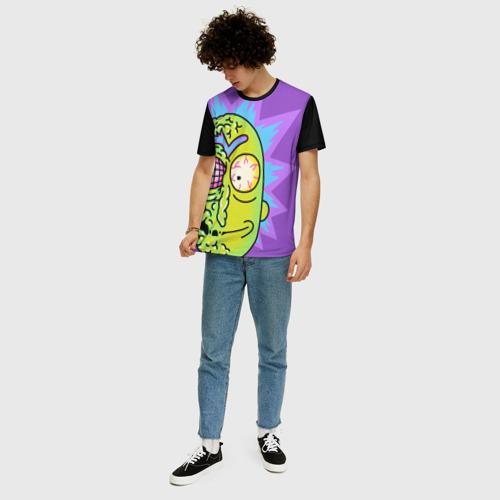 Мужская футболка 3D+ Rick & Morty. RICK Фото 01