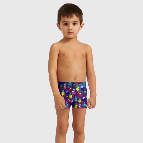 Детские купальные плавки 3D AMONG US Фото 01