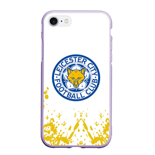 Чехол для iPhone 7/8 матовый Leicester City Фото 01