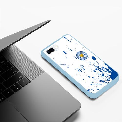 Чехол для iPhone 7Plus/8 Plus матовый Leicester City Фото 01