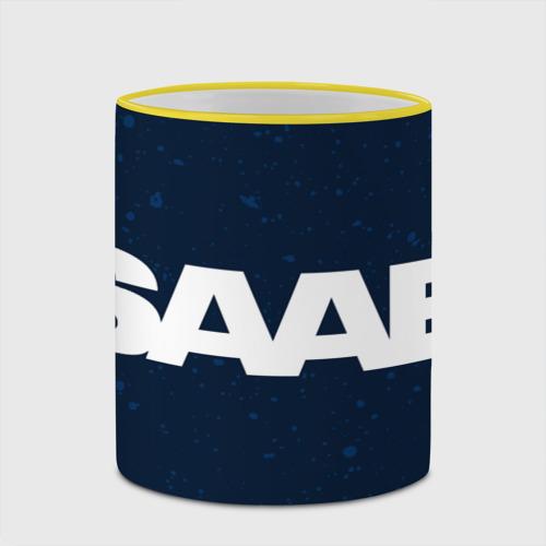 Кружка с полной запечаткой SAAB / Сааб Фото 01