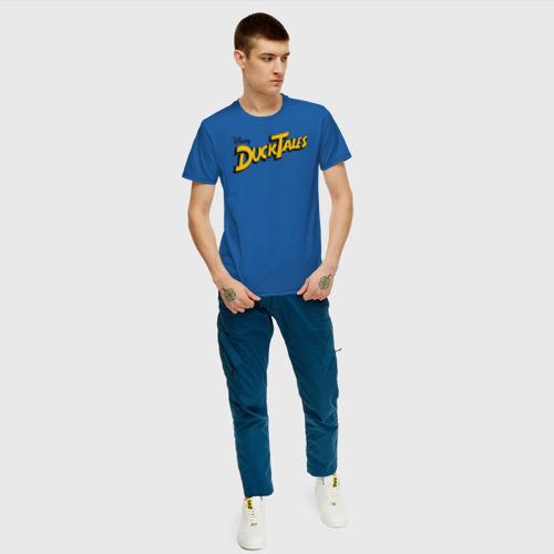 Мужская футболка хлопок Ducktales Фото 01