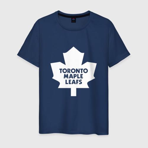 Мужская футболка хлопок Торонто Мейпл Лифс Фото 01