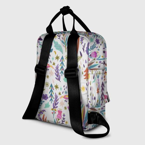 Женский рюкзак 3D год быка 2021 Фото 01