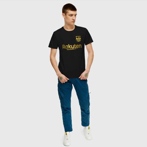 Мужская футболка хлопок FC BARCELONA GOLD Фото 01
