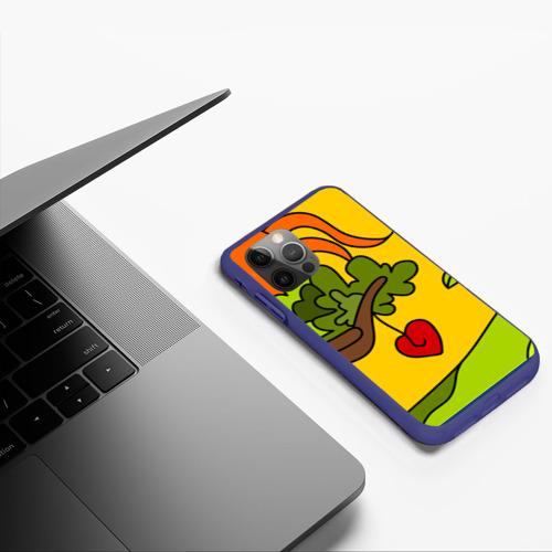 Чехол для iPhone 12 Pro Мысли чокнутого Фото 01