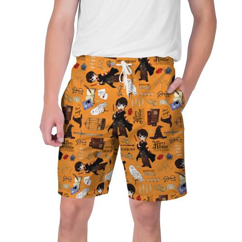 Мужские шорты 3D Гарри Поттер Фото 01