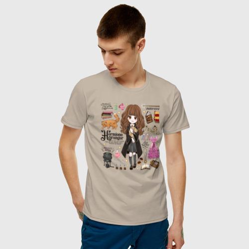Мужская футболка хлопок Гермиона Фото 01