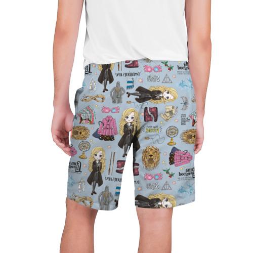 Мужские шорты 3D Луна Фото 01