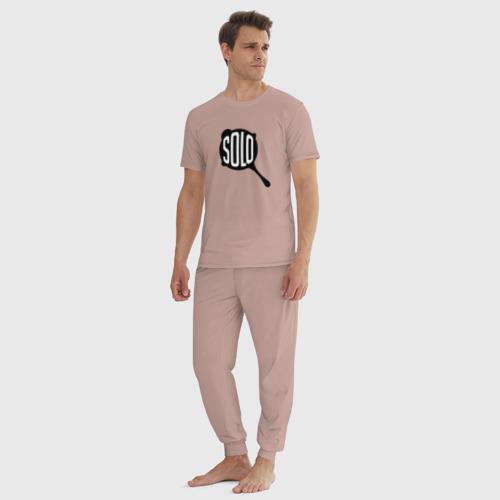Мужская пижама хлопок PUBG SOLO Фото 01