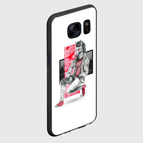 Чехол для Samsung S7 Конь БоДжек Фото 01