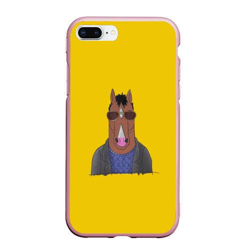 Чехол для iPhone 7Plus/8 Plus матовый Конь БоДжек Фото 01
