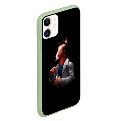 Чехол для iPhone 11 матовый Конь БоДжек Фото 01