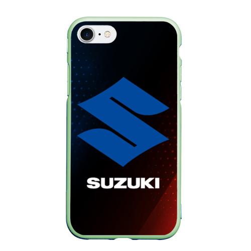 Чехол для iPhone 7/8 матовый SUZUKI / Сузуки Фото 01