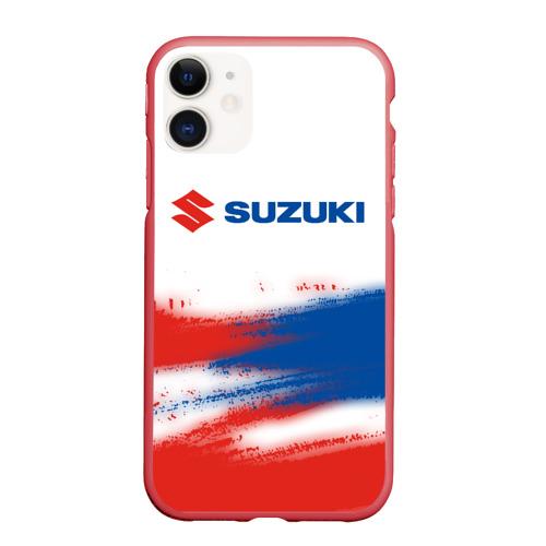 Чехол для iPhone 11 матовый SUZUKI / Сузуки Фото 01