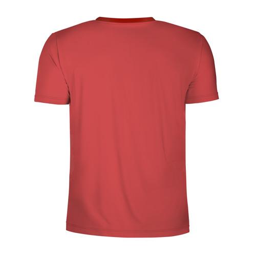 Мужская футболка 3D спортивная Не быкуй Фото 01