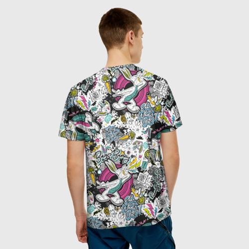 Мужская футболка 3D Багз Банни Фото 01