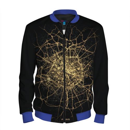 Ночная карта Парижа