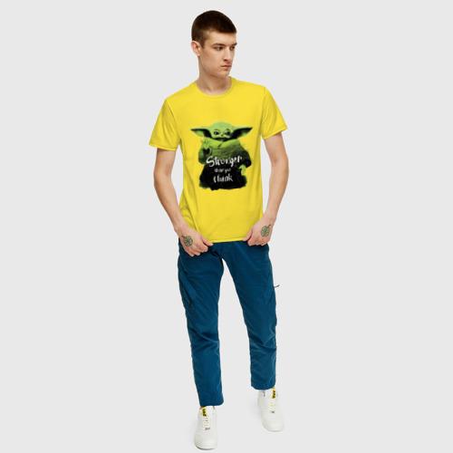 Мужская футболка хлопок Cильнее, чем ты думаешь Фото 01