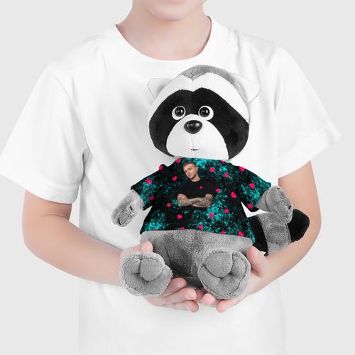 Игрушка Енотик в футболке 3D Егор Крид Фото 01